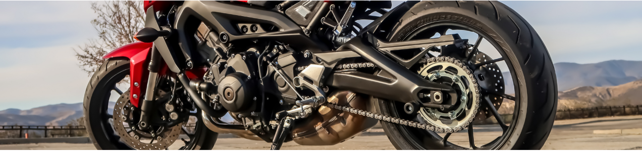 Guide to parts of a motorcycle and their functions