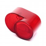 127-84721-31 Taillight Lens - Yamaha AS3, DS7, DT, FS1, RD, RS100, XS650