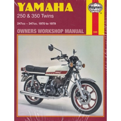 Haynes Manual Yamaha RD250, RD350, DS7 & R5