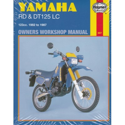 Haynes Manual Yamaha RD125LC, DT125LC 82-87