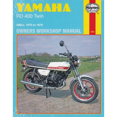 Haynes Manual Yamaha RD400 Twin 75-79