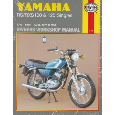 Haynes Manual Yamaha RS100 74-83, RXS100 83-95, RS125 74-84