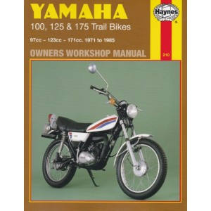 Haynes Manual Yamaha DT100 76-83, DT125, MX 73-82, DT175, MX 73-85
