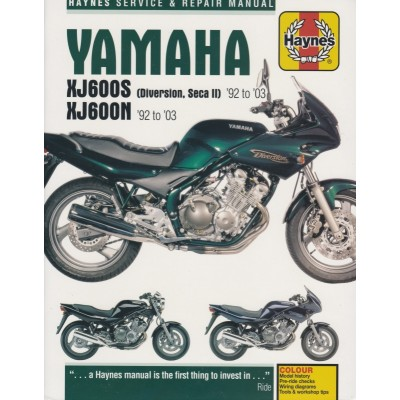 Haynes Manual Yamaha XJ600N, XJ600 Diversion 92-03