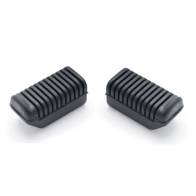 1A0-27413-00 PAIR RD250 RD400 Front Footrest Covers